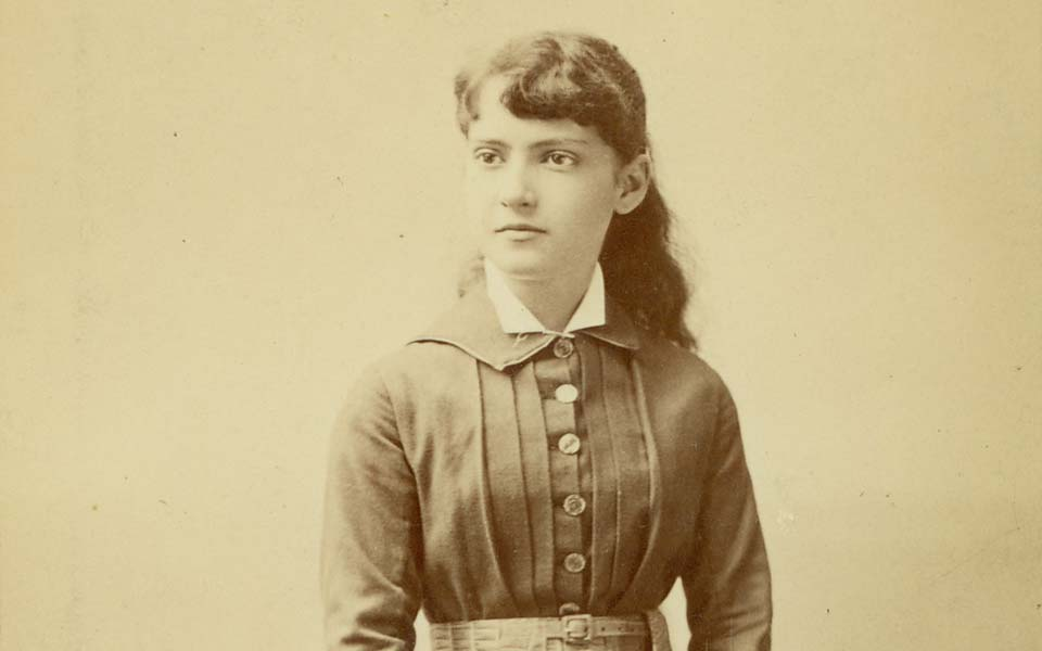 Annie Nathan Meyer as a young woman.