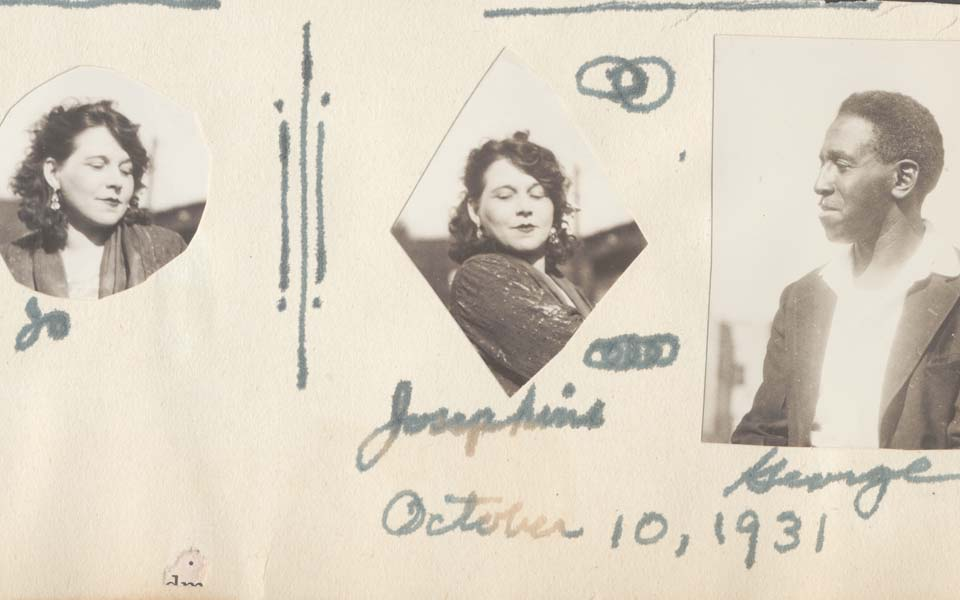 A page from Josephine Schuyler's scrapbook, dated October 10, 1931.